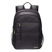 15.6寸电脑包联想华硕戴尔惠普商务背包男女书包14寸笔记本双肩包 黑色双肩电脑包