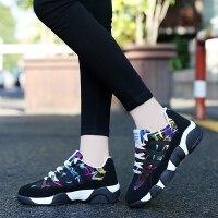 中学生运动鞋女韩版秋冬季棉鞋11少女孩12大童13岁休闲跑步鞋子15