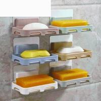 浴室创意吸盘肥皂盒壁挂式香皂架沥水香皂盒置物架卫生间免打孔托