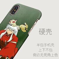 犬夜叉杀手丸iphone6/8/Xsmax苹果7plus动漫XR套潮男磨砂硬手机壳