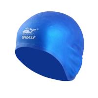 游泳帽男防水儿童泳帽硅胶泳帽 鲸鱼护耳泳帽女长发
