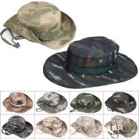 渔夫帽特种兵军迷战术帽 迷彩圆边帽工装遮阳帽户外大檐奔尼帽