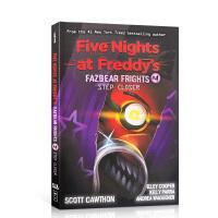 【全店300减100】英文原版 玩具熊的五夜后宫 披萨店惊魂4 Five Nights at Freddy's #04