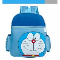 儿童幼儿园书包中大班学前班小学生男童女童小孩3-5-8岁双肩包背 蓝色叮当猫 34cm