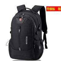 旅行背包女大容量高中大学初中学生书包双肩包男瑞士电脑