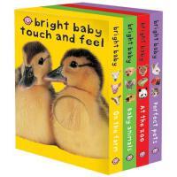 【预订】Bright Baby Touch & Feel Boxed Set On the Farm, Baby An