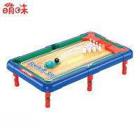 【5折包邮 限时抢购】萌味 儿童台球桌 桌上足球亲子互动游戏玩具6合1多功能台球桌