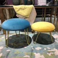 布艺客厅小凳子家用轻奢矮凳简约现代小板凳时尚茶几凳成人沙发凳