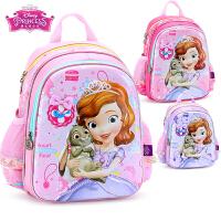 迪士尼书包儿童书包幼儿园女童3-5岁小公主苏菲亚宝宝卡通双肩包