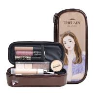 多功能大容量韩国化妆包可爱卡通洗漱包小号简约手拿包便携收纳包