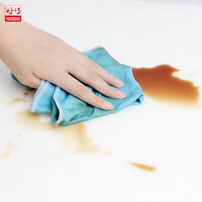 清洁布家用吸水不易掉毛无尘擦厨房瓷砖擦桌抹