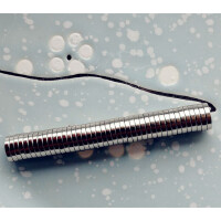 DIY手工材料包10*2磁铁强力永磁吸铁石子活动冰箱贴配件 满 10*2MM 10个 小