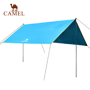 camel骆驼户外帐篷3-4人 雨棚遮阳棚折叠伸缩野外露营6人加厚帐篷装备