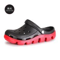 洞洞鞋男夏季潮流包头学生凉鞋防滑软底沙滩鞋迪特拖鞋