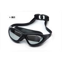 泳镜女大框近视高清防水防雾游泳眼镜男电镀潜水度数游泳装备