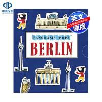英文原版 Berlin: Panorama Pops 柏林:全景 精装 艺术立体书