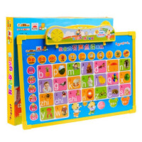 小笨熊学习课堂:组合式有声点读画板益智玩具个性设计随意涂写