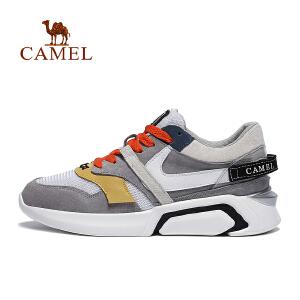 骆驼牌运动鞋2018 春夏女透气轻质缓震耐磨运动舒适休闲鞋