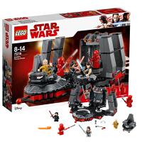 当当自营LEGO乐高starwars/星球大战系列第一秩序王座大决战75216塑料积木玩具