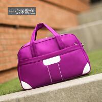 旅行包女手提包待产包韩版短途插拉杆大容量防水可折叠健身行李包 大