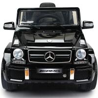 奔驰G63儿童电动车四轮越野带遥控汽车可坐童车宝宝玩具车可坐人 + MP4液晶屏