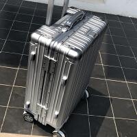 铝框拉杆箱万向轮20密码箱男登机旅行箱女24寸韩版行李箱28皮箱子