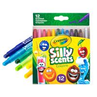 Crayola绘儿乐 52-9612 百变香味12色迷你旋转蜡笔 当当自营