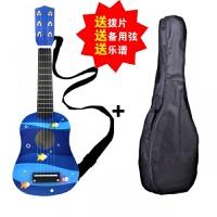 儿童吉他玩具六弦可弹奏仿真木制小吉他初学音乐启蒙儿童乐器21寸a120