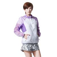 【清仓断码】AIRTEX/亚特拉链胸袋 清新撞色白皮肤风衣女款 英国时尚户外