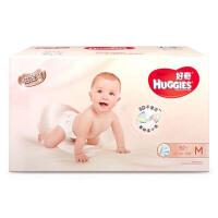 【中粮我买】好奇HUGGIES 铂金装倍柔亲肤纸尿裤电商箱装 M92片(6-11kg)