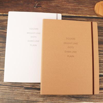 a4活页夹外壳打孔文件夹方格30孔金属大笔记本透明可替换网格道林