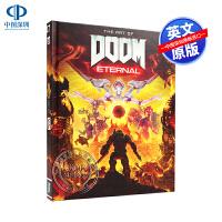 英文原版 毁灭战士永恒游戏设定集 精装艺术画册 The Art of DOOM: Eternal 概念艺术绘画 收藏版