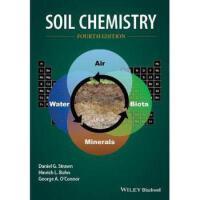 【预订】Soil Chemistry 4/e 9781118629239