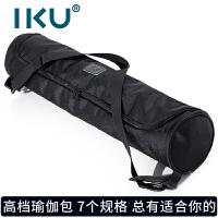 IKU 瑜伽垫背包 时尚便携式瑜伽专用包 瑜伽配件 防水防尘简洁瑜珈背包瑜伽包 经典黑(多规格可选)