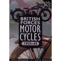 【预订】British Forces Motorcycles 1925-45