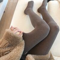 日系秋冬款多色保暖光腿神器薄绒连裤袜外穿打底袜 均码