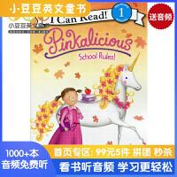 #原版英文童书 Pinkalicious: School Rules!粉红控系列之学校的校规 [4-8岁]