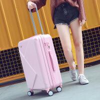 拉杆箱万向轮行李箱男20寸登机箱皮箱女学生24寸密码箱韩版旅行箱