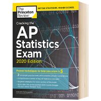 破解AP统计学考试2020版 英文原版 Cracking the AP Statistics Exam 全英文版 普林