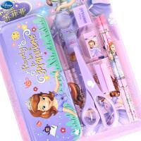 迪士尼小学生文具礼盒套装男女童幼儿园文具套盒开学文具