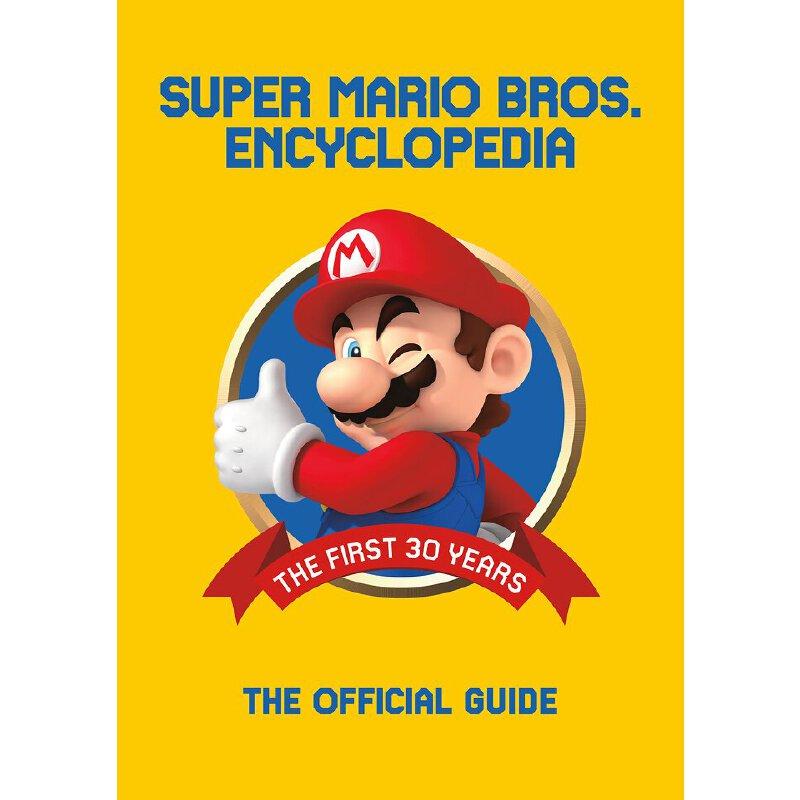 英文原版 超级马里奥大百科全书:30年历史官方指南 精装 Super Mario Encyclopedia: The Official Guide to the First 30 Years