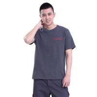 保时捷短袖t恤4S店售后新款 汽车维修工作服男夏装POLO 工装 老款T恤