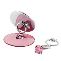挂件功能小件钻戒镜子礼盒 汽车钥匙扣女可爱创意钥匙链圈