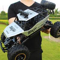 ?超大型合金遥控汽车越野车四驱充电动高速攀爬大脚车男孩儿童玩具?
