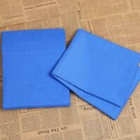 纯蓝色床单被罩学生三件套 专用枕套宿舍 特价促销