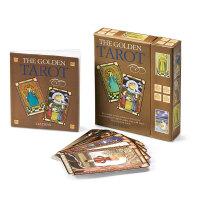 【特惠包邮】The Golden Tarot 黄金塔罗牌 英文原版心灵解忧占卜