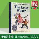 【包邮】漫长的冬季 英文原版 The Long Winter 纽伯瑞奖 英文版儿童文学青少年成长小说 Little H