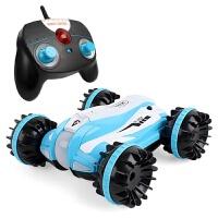 电动儿童rc遥控汽车玩具车水陆两栖车充电遥控船水上男孩越野