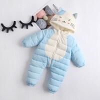 新生婴儿秋装女男宝宝连体衣秋冬装套装衣服婴儿冬季外出抱衣