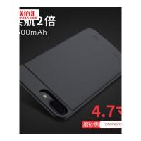 �O果6背�A充����池iphone6plus6s手�C��6P�_便�y